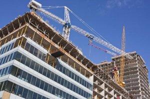 Budynek w trakcie konstrukcji