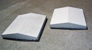 czapki(daszki) na murki ogrodzeniowe 27x39x6 , 35x39x6
