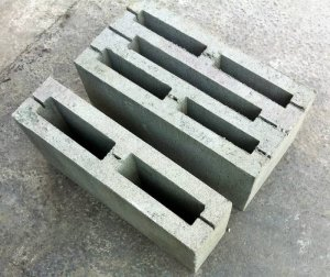 Pustak betonowy 40x20x20 i 40x20x10